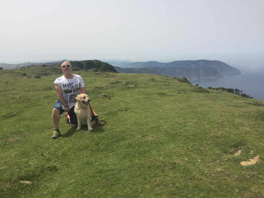 Viajar con perros en Galicia